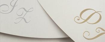 Χρυσοτυπία και ασημοτυπία σε φακέλους με ειδικά χαρτιά