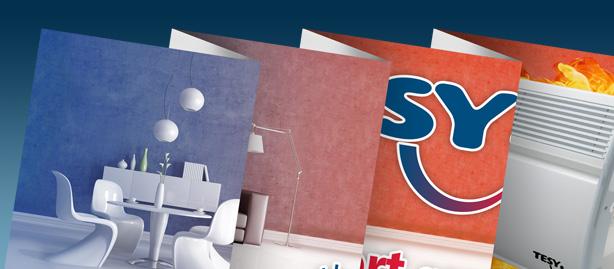 διαφημιστικά φυλλάδια με πολλαπλά διπλώματα