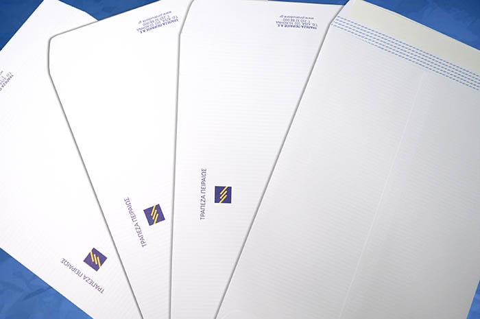 φάκελοι εκτυπωμένοι