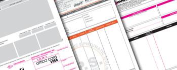 μηχανογραφικά έντυπα για εκτυπωτές laser (λέιζερ) μηχανογραφικά για dot matrix (ντοτ μάτριξ) ή για απλούς inkjet (ινκτζετ)