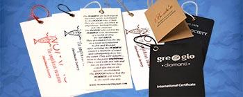 ετικέτες ρούχων και άλλων προϊόντων